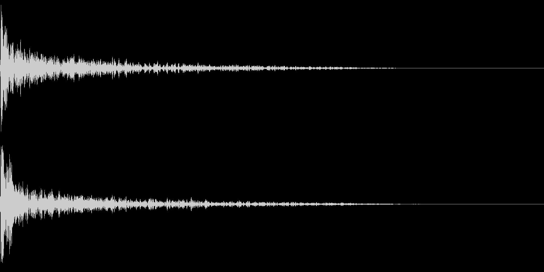 トーナルボタン3・始まりのロゴ・ブーンの未再生の波形