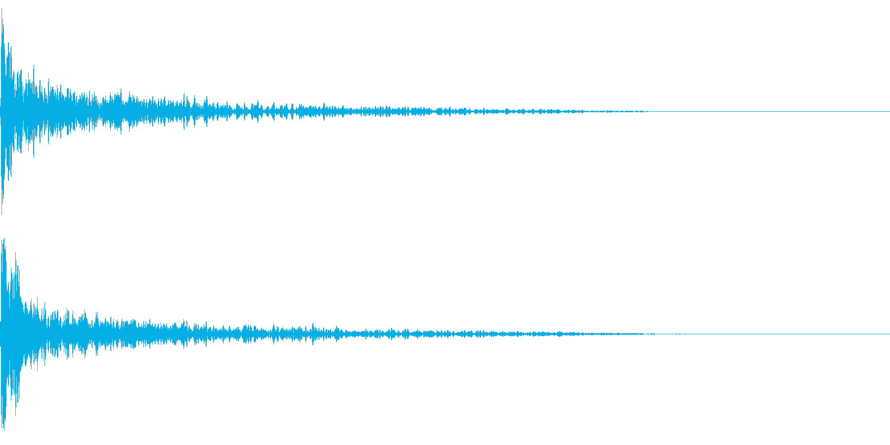 トーナルボタン3・始まりのロゴ・ブーンの再生済みの波形
