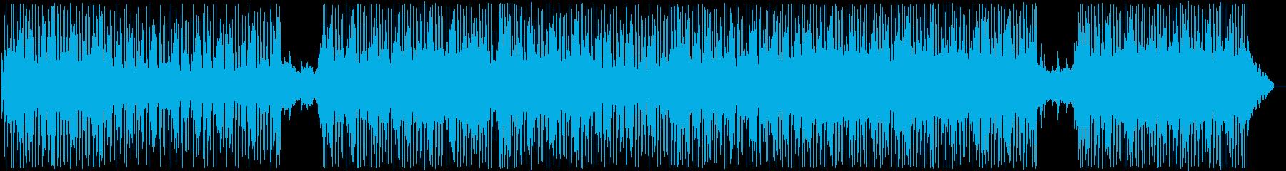 オリエンタル感。シーケンサーとアル...の再生済みの波形