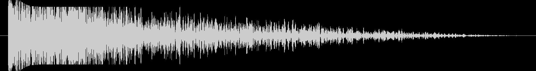 FX 大爆発01の未再生の波形