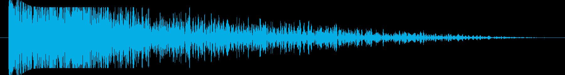 FX 大爆発01の再生済みの波形