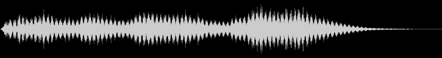 バイブラフォン:夢、長いの未再生の波形