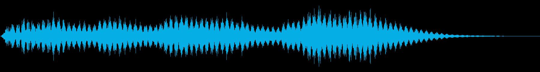 バイブラフォン:夢、長いの再生済みの波形