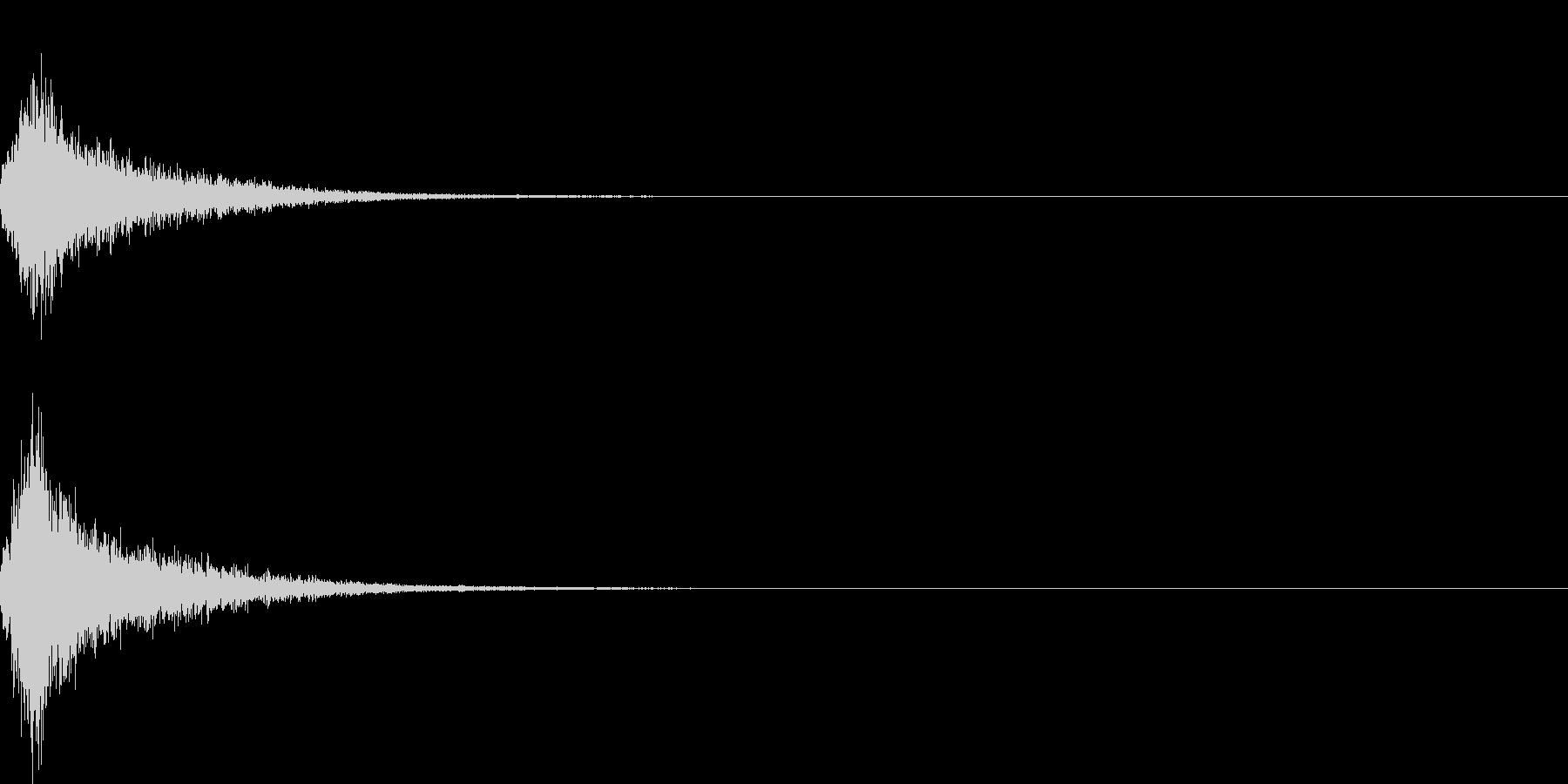 ジャン(オーケストラヒット中クラシック)の未再生の波形