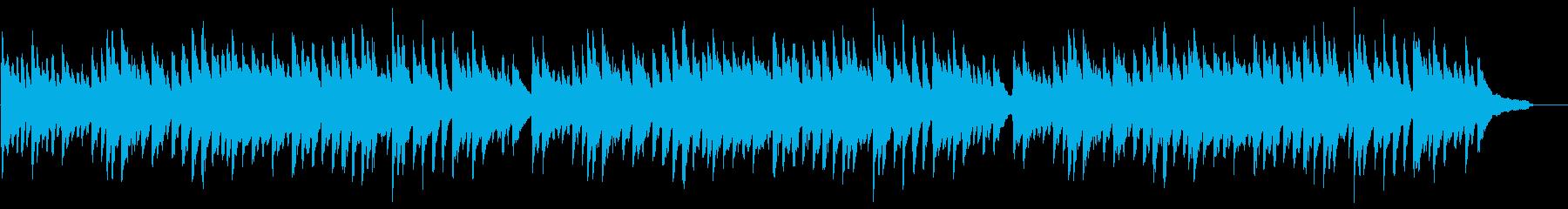 「ふるさと」ピアノ伴奏 ト長調の再生済みの波形