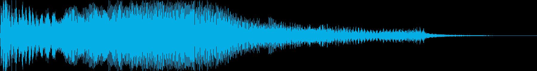 【映画演出】ドンッ!ブワーンッ・・・の再生済みの波形