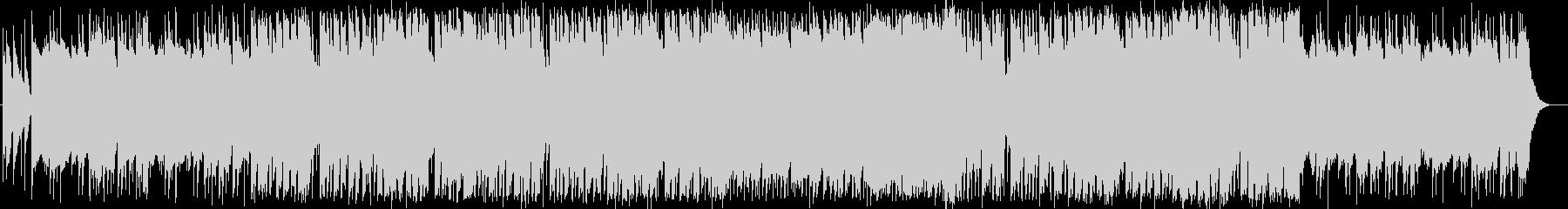 ロックな「たなばたさま」童謡カバーの未再生の波形