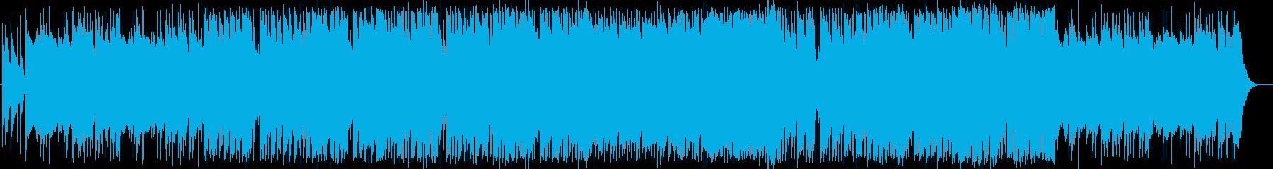 ロックな「たなばたさま」童謡カバーの再生済みの波形