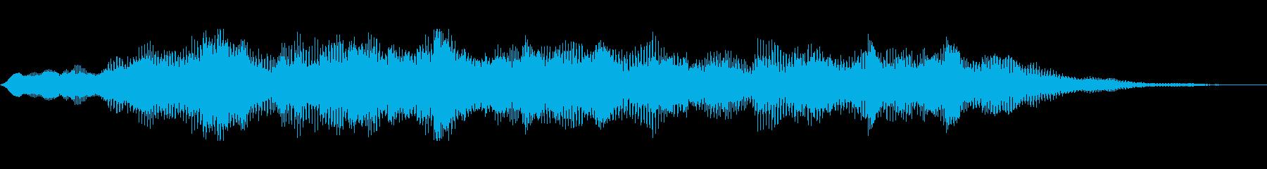 ロゴ・サンバー、ピアノ・リードの再生済みの波形