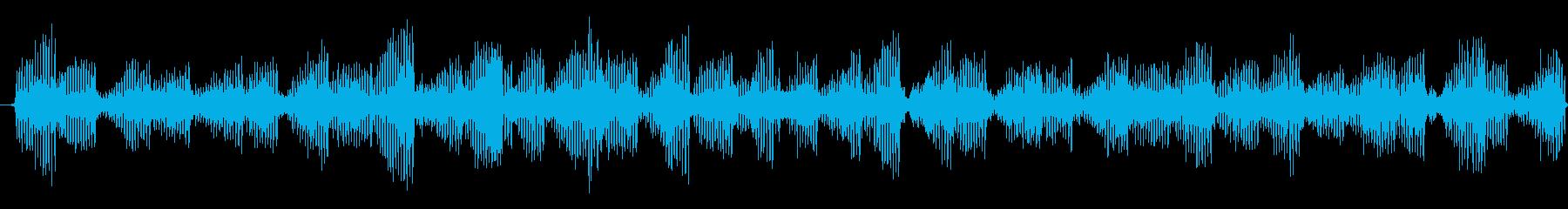 ジジジジ・・・と虫が鳴く音ですの再生済みの波形