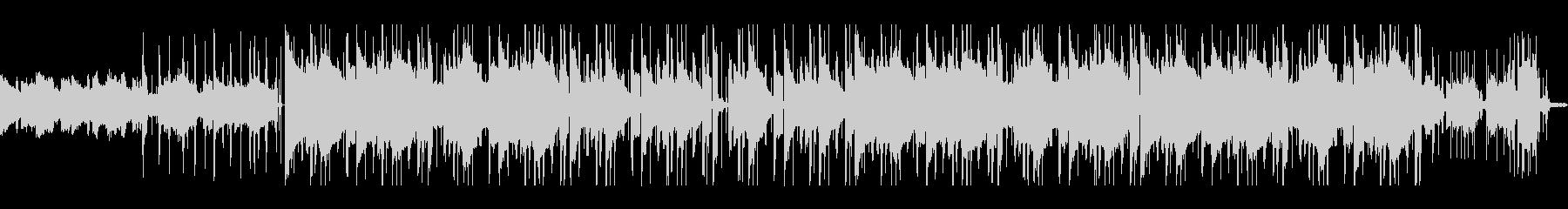 サックスが響く朝のLo-fiヒップホップの未再生の波形