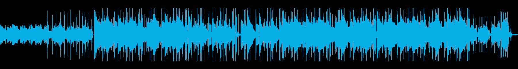 サックスが響く朝のLo-fiヒップホップの再生済みの波形