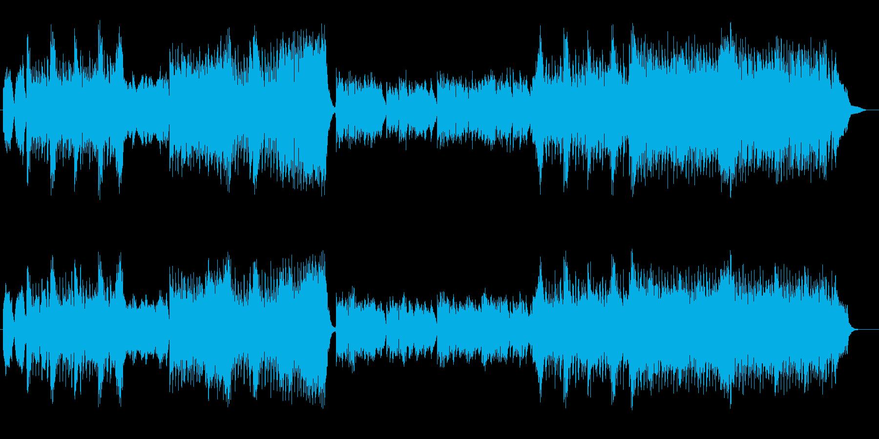 教会音楽のような奇抜なホラーロックの再生済みの波形