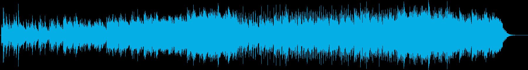 可憐で優しいピアノサウンドの再生済みの波形