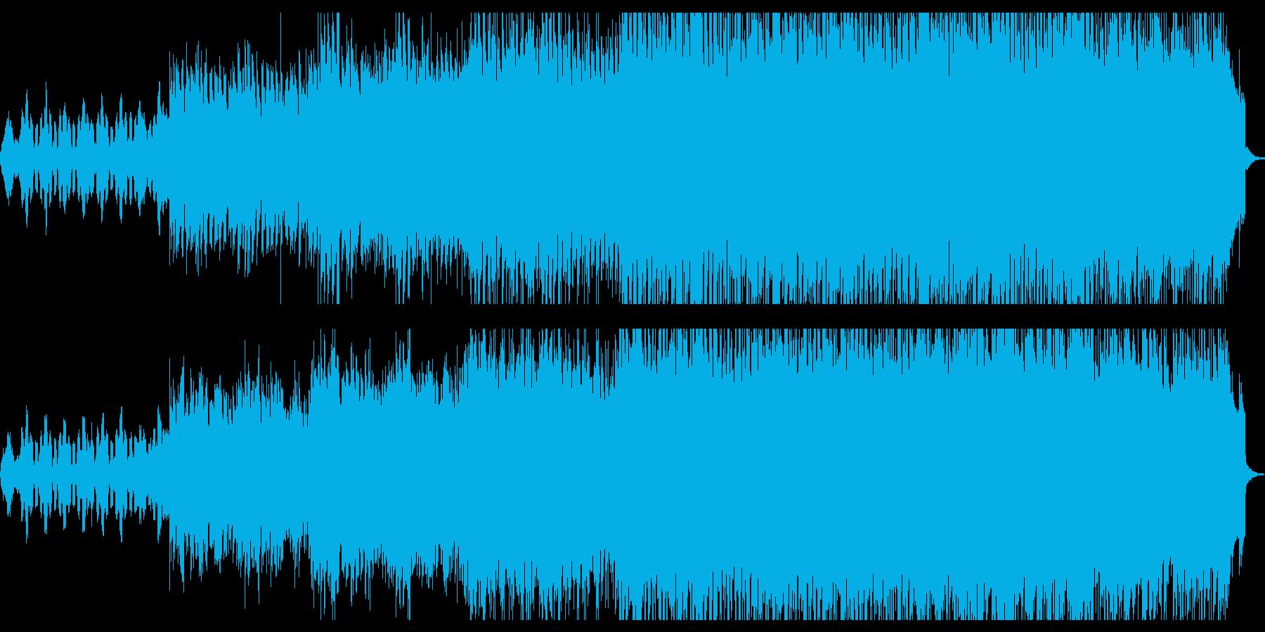 インディーロック ポップロック 企...の再生済みの波形