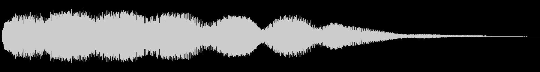レトロPC起動ジャーン/長め和音ME7の未再生の波形