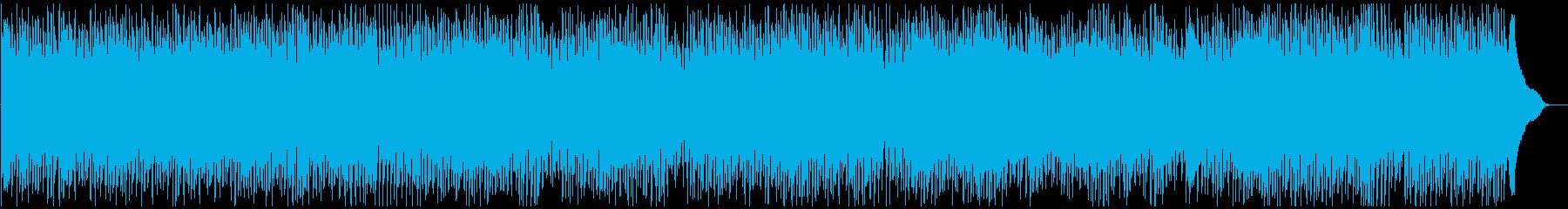 レトロ感漂うR&Bの再生済みの波形