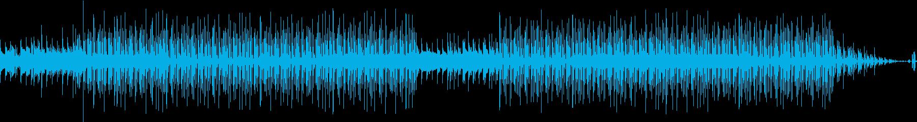 聴きやすいメロディーの再生済みの波形