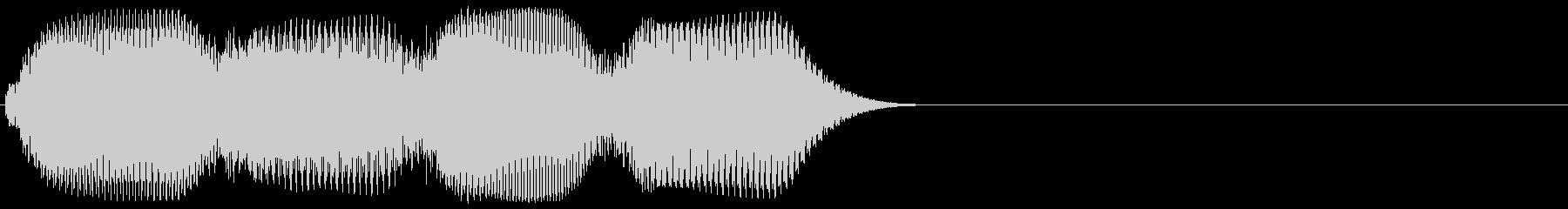 ピコピコ(アクセント・装飾音)の未再生の波形