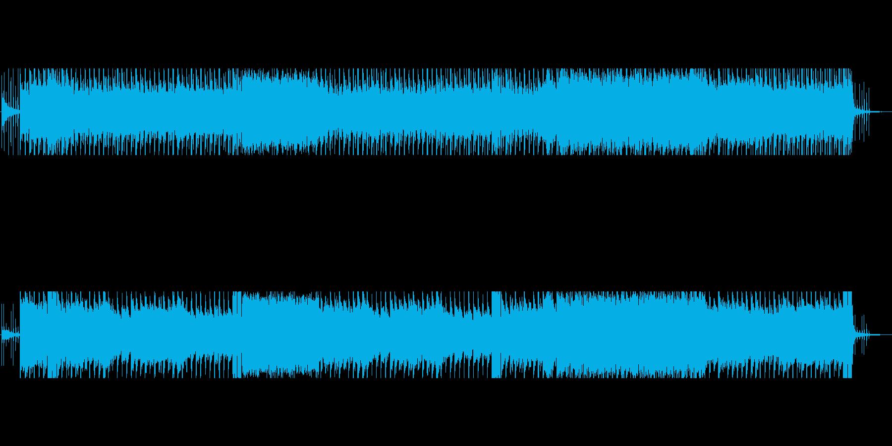ダークファンタジーでスチームパンクな曲の再生済みの波形