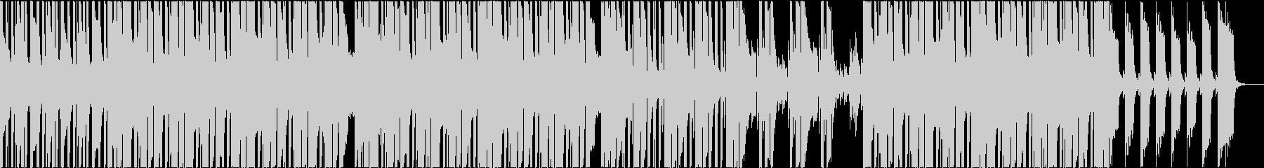 雨の日っぽいチル系ヒップホップの未再生の波形
