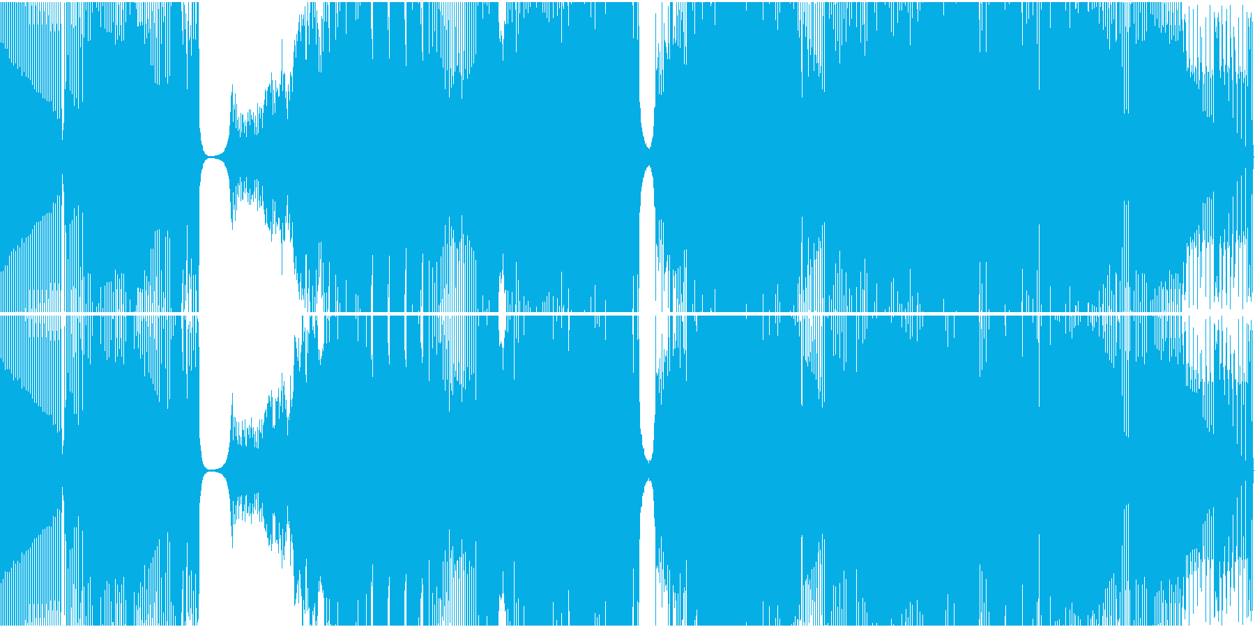 エレクトロハウス。プログレッシブ、...の再生済みの波形