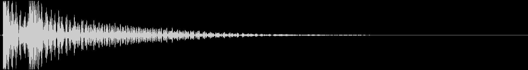 大太鼓 和楽器 ドドン 高音質の未再生の波形