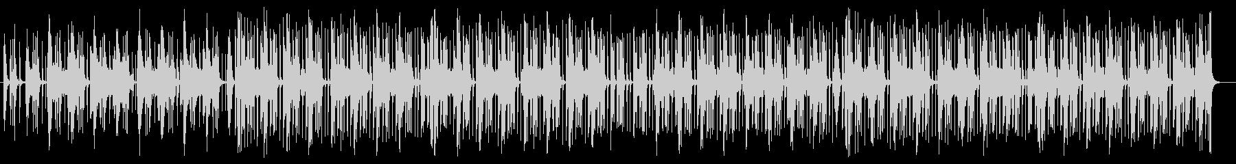 ミディアムテンポなシンセサイザー曲の未再生の波形