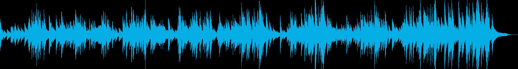 バッハ『G線上のアリア』ピアノの再生済みの波形