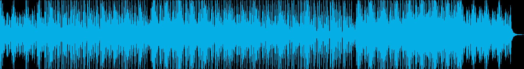 ダブ的なチルアウトミュージック。の再生済みの波形