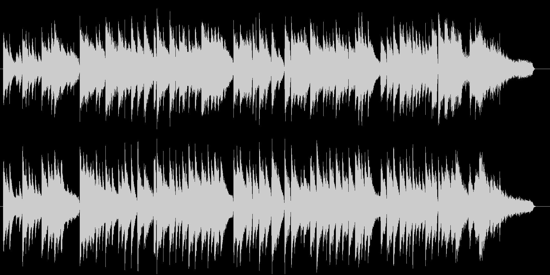 童謡赤とんぼ。ジャズピアノソロで。の未再生の波形