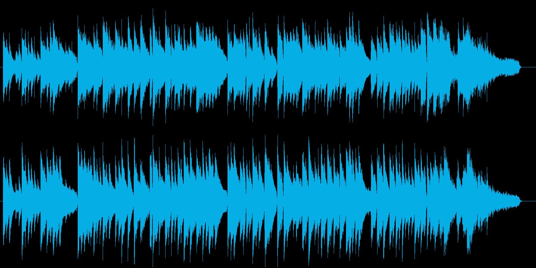 童謡赤とんぼ。ジャズピアノソロで。の再生済みの波形