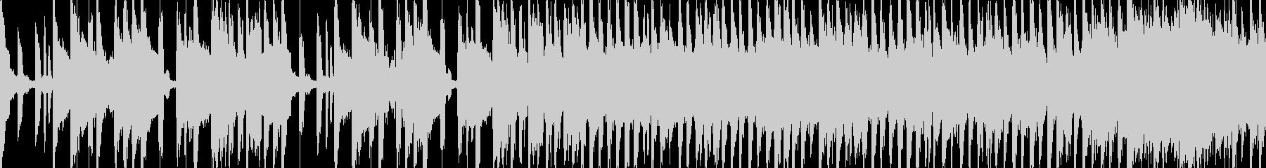 可愛く元気のある曲(Loop対応)の未再生の波形