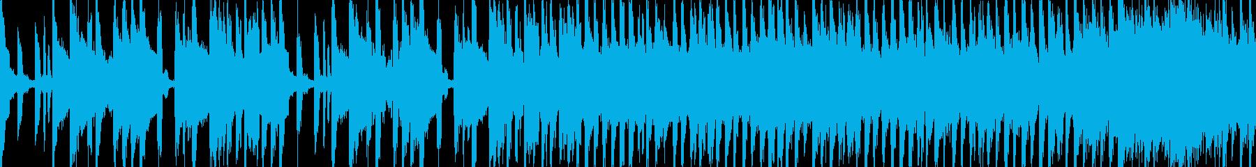 可愛く元気のある曲(Loop対応)の再生済みの波形