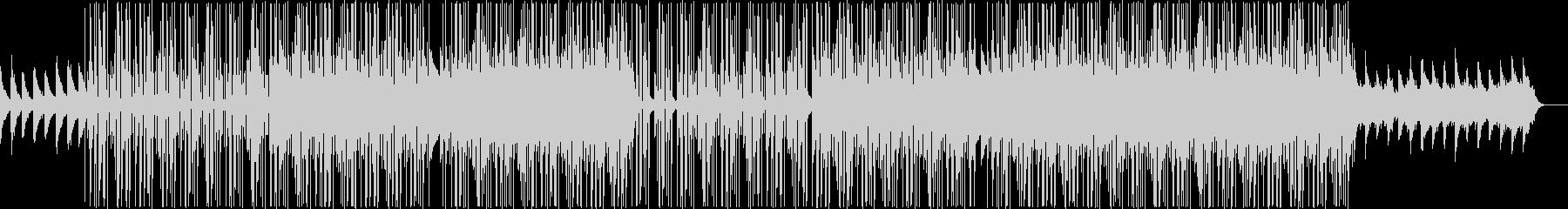 哀愁系の洋楽トラップビートの未再生の波形
