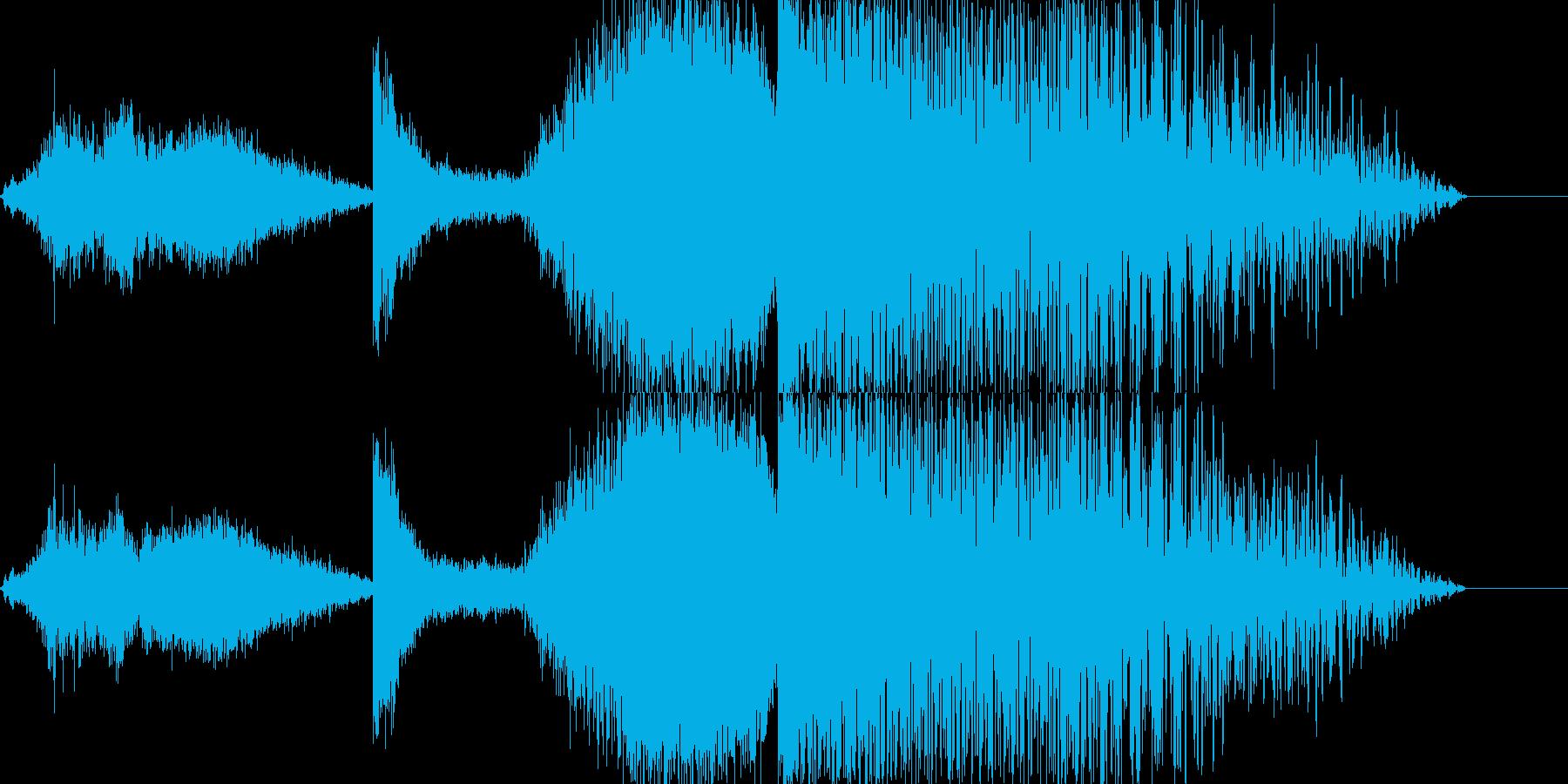 シュイーンドカーンの再生済みの波形