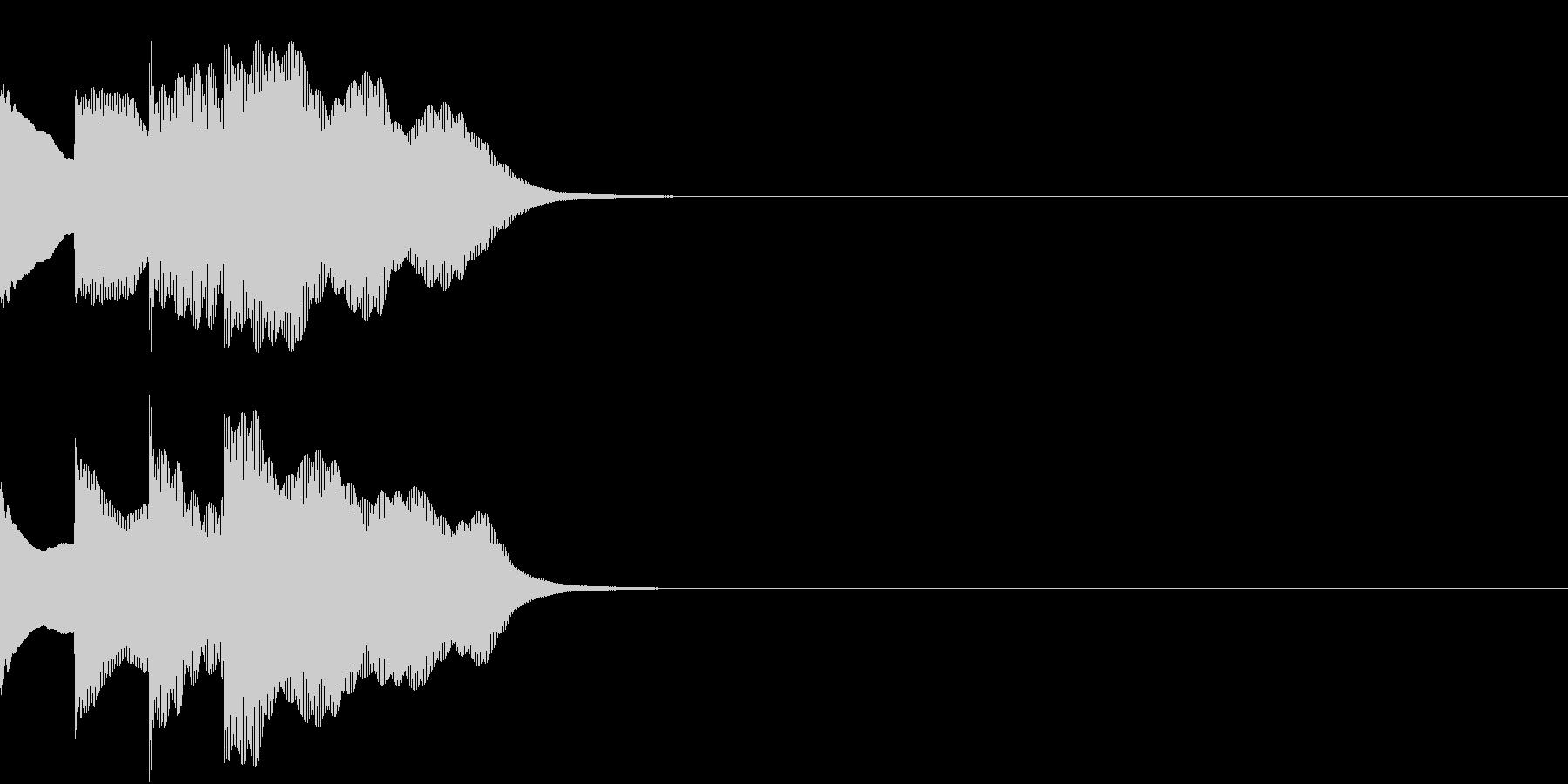 多用途効果音-07E(放送チャイム上昇)の未再生の波形
