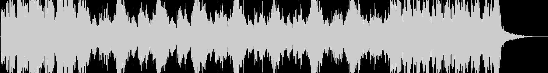 「○○チャレンジ」などのバトル系サウンドの未再生の波形