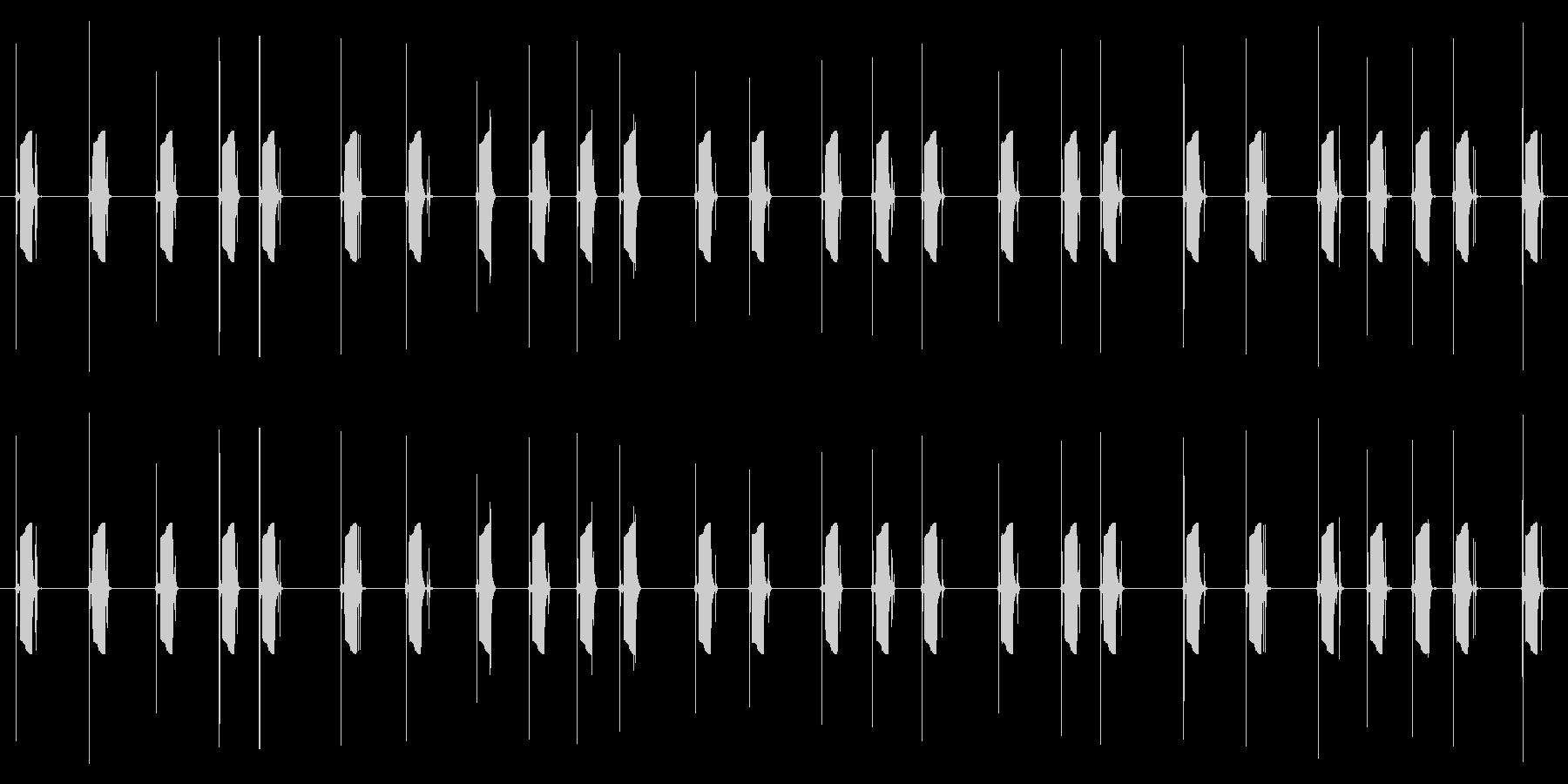 携帯電話 ハードウェア02-05(ボタンの未再生の波形