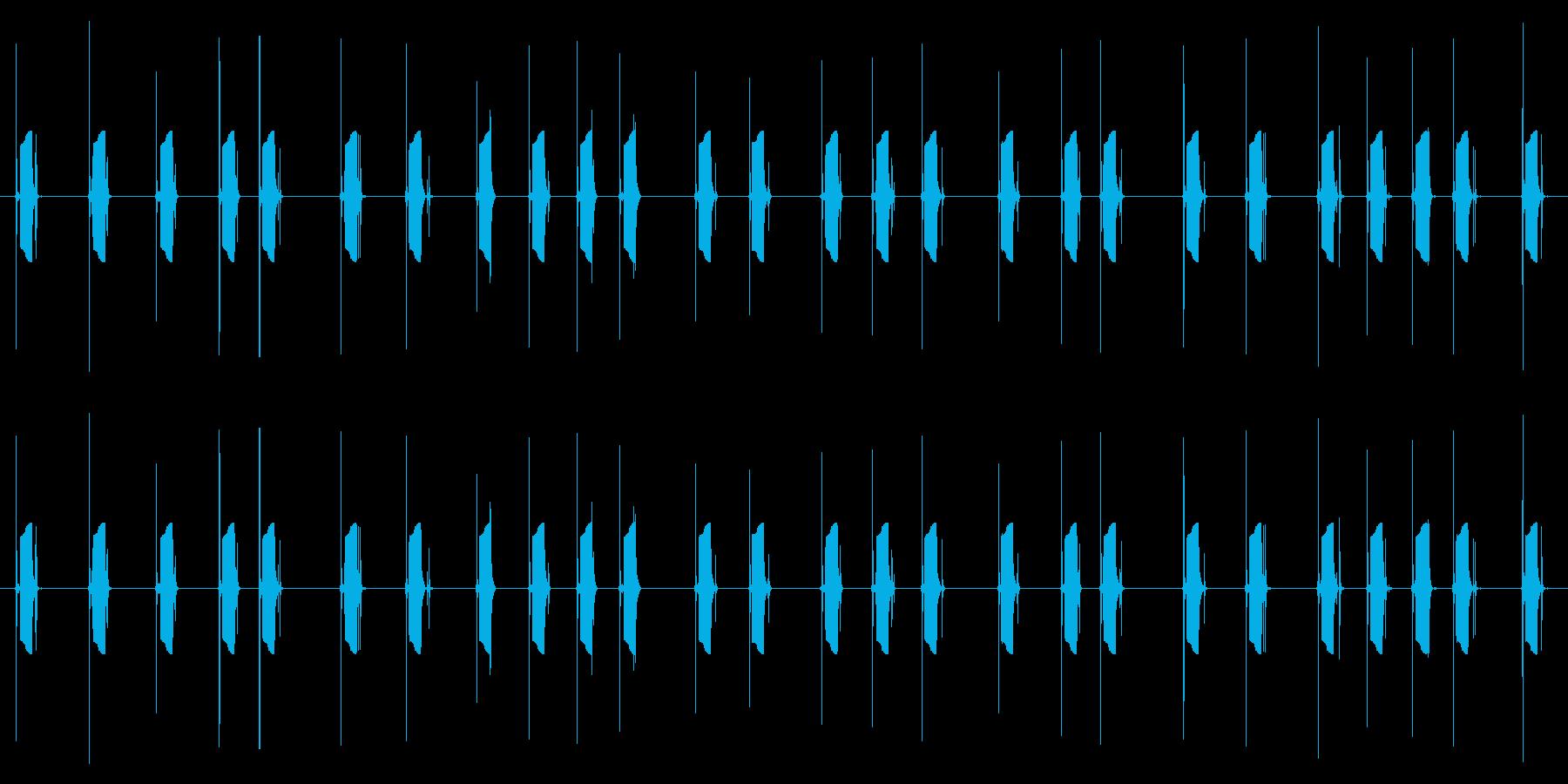 携帯電話 ハードウェア02-05(ボタンの再生済みの波形
