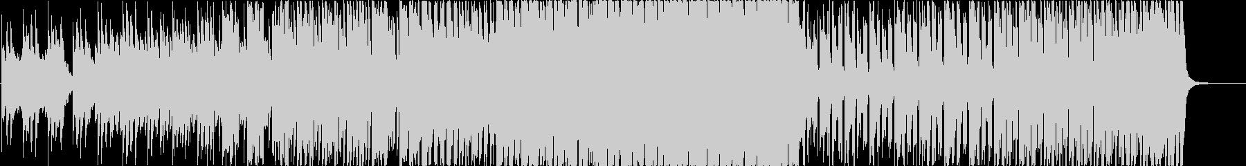 朝をイメージしたEDM系BGMの未再生の波形