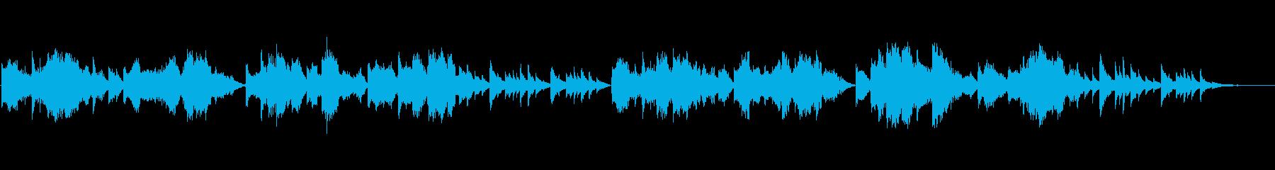 クラシックの子守歌をヴァイオリンで①の再生済みの波形