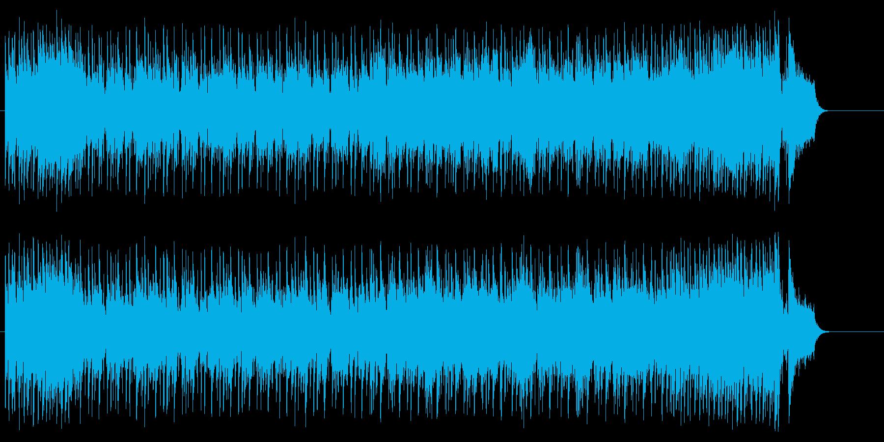 爽やかなリゾート風フュージョン/ポップの再生済みの波形
