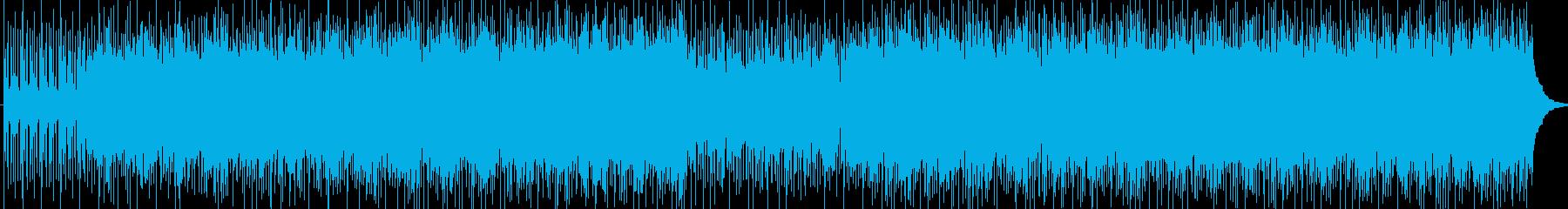 かっこいいリズムのメロディーの再生済みの波形