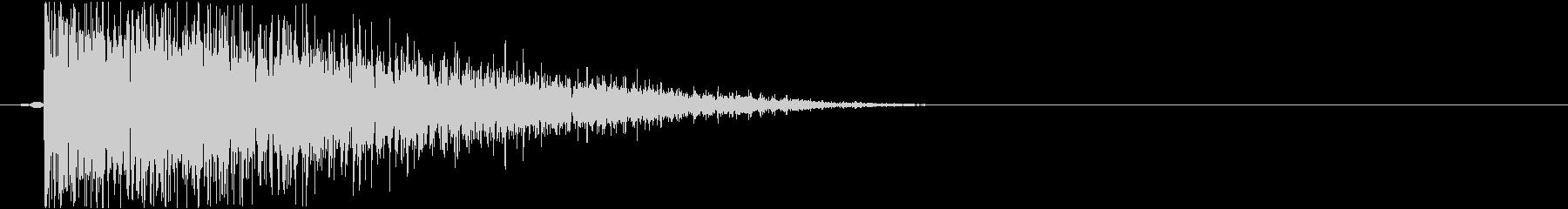 カーソル音_決定音_長調-E-05_の未再生の波形