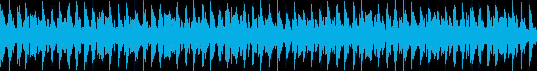 明るい穏やかなポップミュージックの再生済みの波形