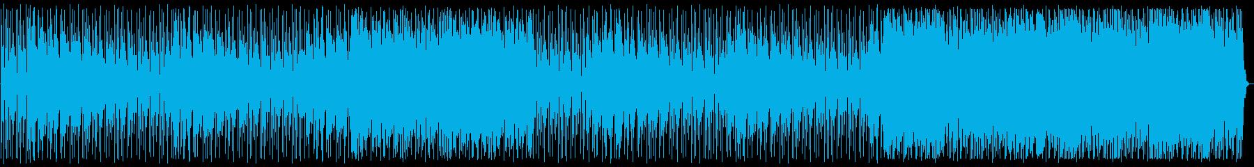 軽快な4つ打ちハウス_No583_1の再生済みの波形
