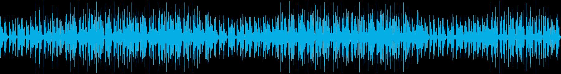 クール・お洒落・ギター・ピアノ・BGMの再生済みの波形