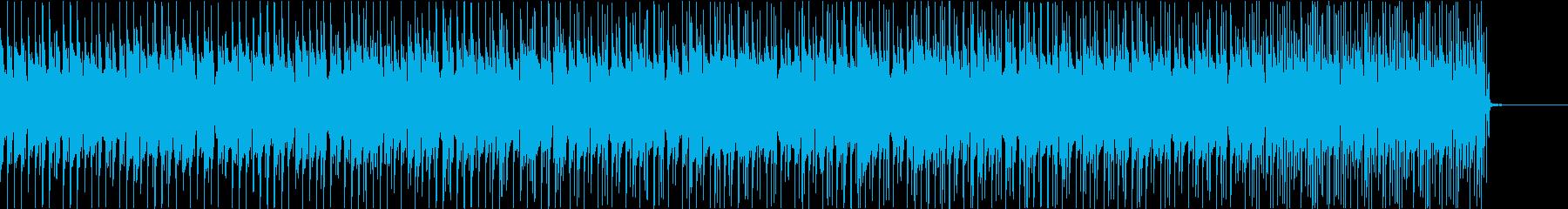 ジャズ調のピアノトリオポップスの再生済みの波形