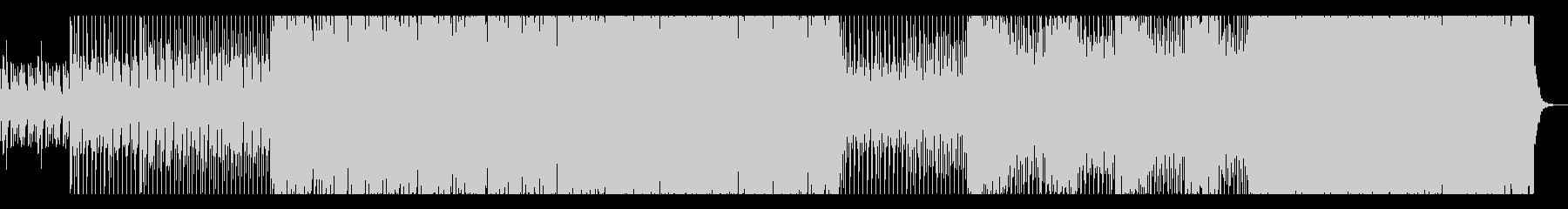 和風かつEDM風エレクトロニックな曲の未再生の波形